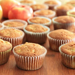 Apple Banana Muffins.