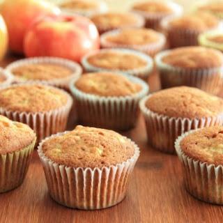 Apple Banana Muffins.