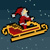 Droppin' Santa retro Xmas game