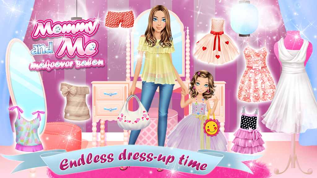Mommy and Me Makeover Salon- screenshot