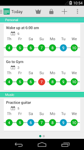 Rewire - Habit & Goal Tracker - screenshot thumbnail