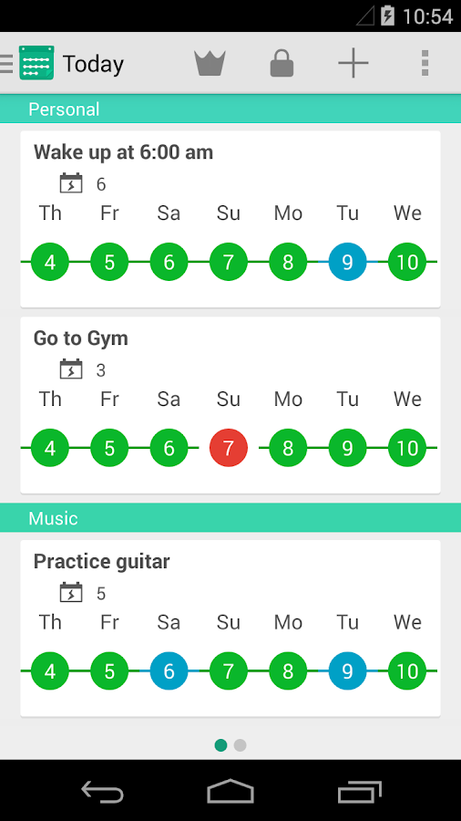 Rewire - Habit & Goal Tracker - screenshot