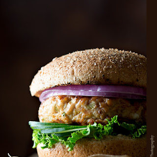 Raspberry Habanero Jam-Glazed Chicken Burger
