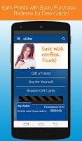 Screenshot of eGifter – Online Gift Cards