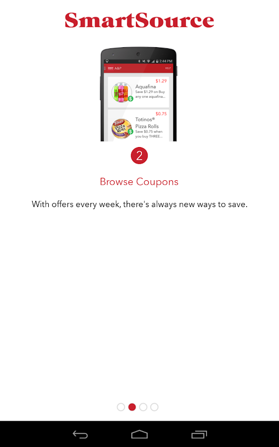 SmartSource Coupons- screenshot
