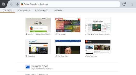 Firefox Beta — Web Browser Screenshot 23