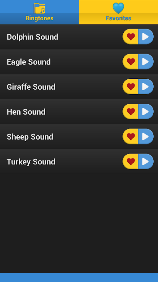 Animal Sounds Animal RingTones - screenshot