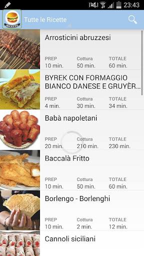 Ricette Street Food - FREE