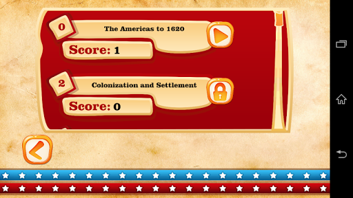 USA History Test