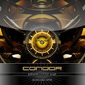 CONDOR beautiful clock widget logo