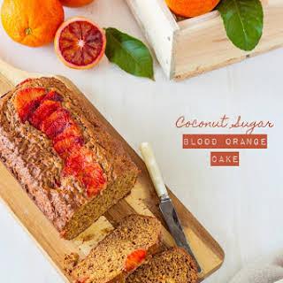 Coconut Sugar Blood Orange Cake.