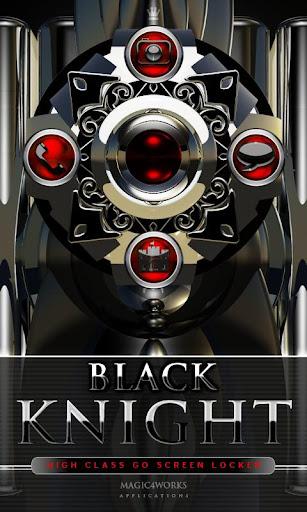 GO Locker Theme Black Knight