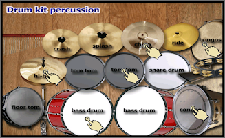 Screenshot of Drum Kit Plus