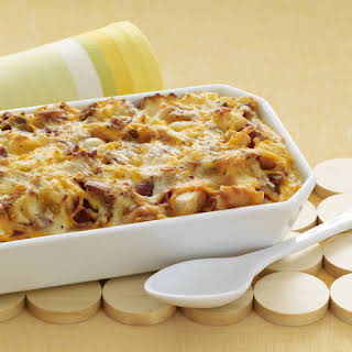 Cheesy Bacon & Egg Brunch Casserole.