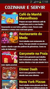 Jogos de Cozinhar e Servir - screenshot thumbnail