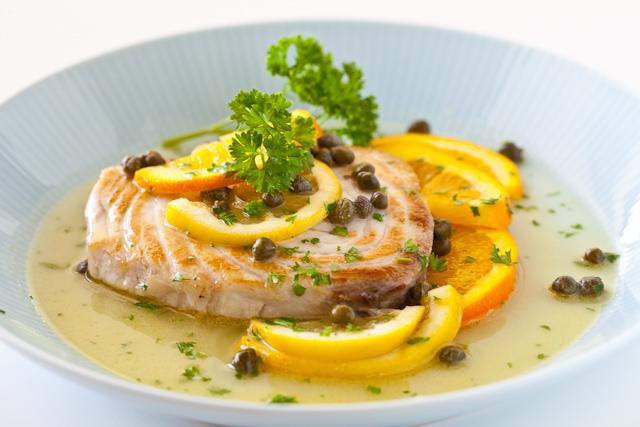 Fish with Citrus Caper Sauce Recipe