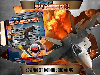 Jet Fighter Enemy Ambush