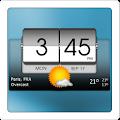 3D Flip Clock & Weather download