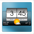 App 3D Flip Clock & Weather APK for Kindle