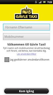 Gävle Taxi- screenshot thumbnail