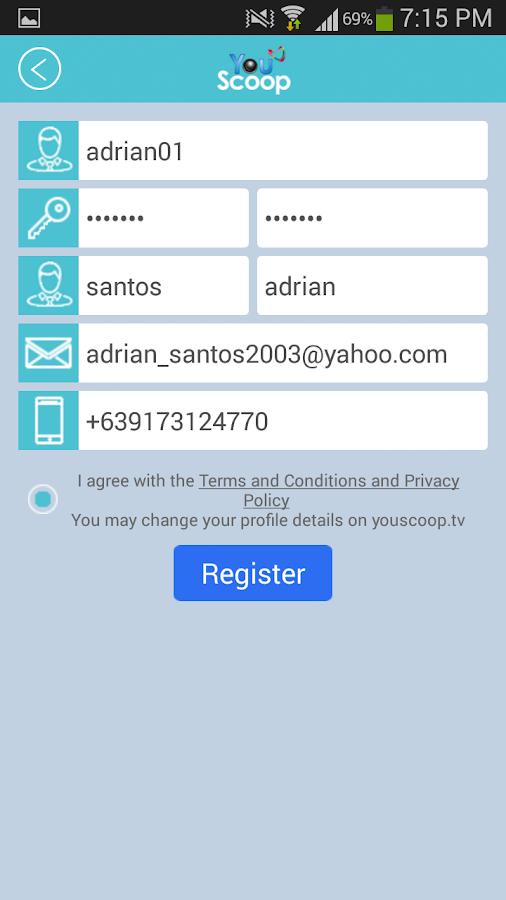 YouScoop - screenshot
