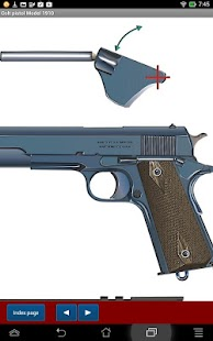 Colt pistol Model 1911- screenshot thumbnail