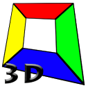 Crossing 3D icon