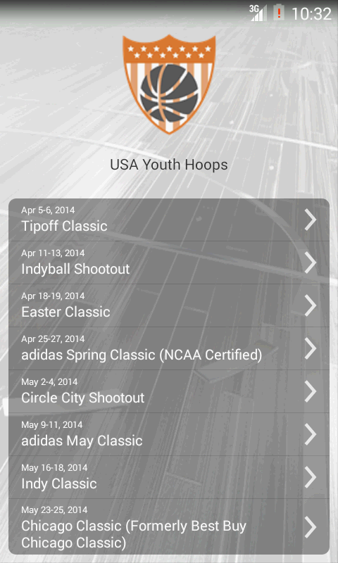 USA Youth Hoops- screenshot