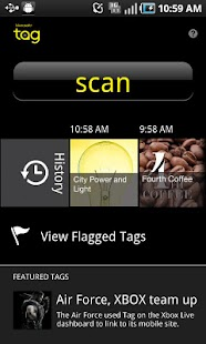 Microsoft Tag, QR & NFC Reader - screenshot thumbnail
