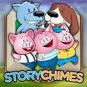 The Three Pigs 2 StoryChimes logo