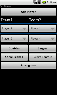 Badminton Score lite - screenshot thumbnail