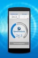Screenshot of SpeedAnalysis Speed Test