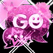 GO SMS Pink Dark Star Buy
