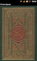 Screenshot of 13 Line Quran