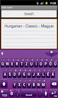 Screenshot of SlideIT Hungarian Classic Pack