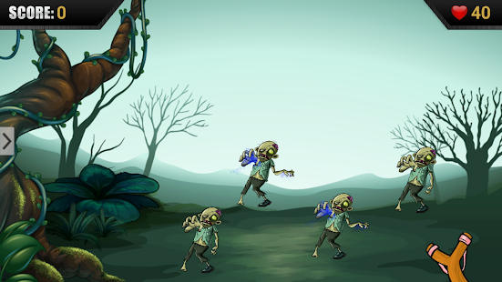 Catapult the Zombies