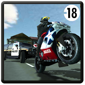 Motorbike vs Police for PC and MAC