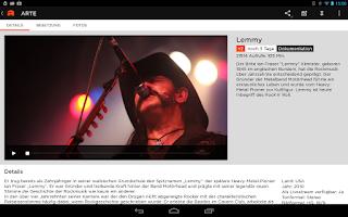 Screenshot of ARTE