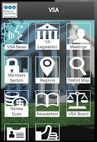 Screenshot of VSA
