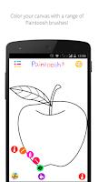 Screenshot of Paintoosh Draw, Paint & Color