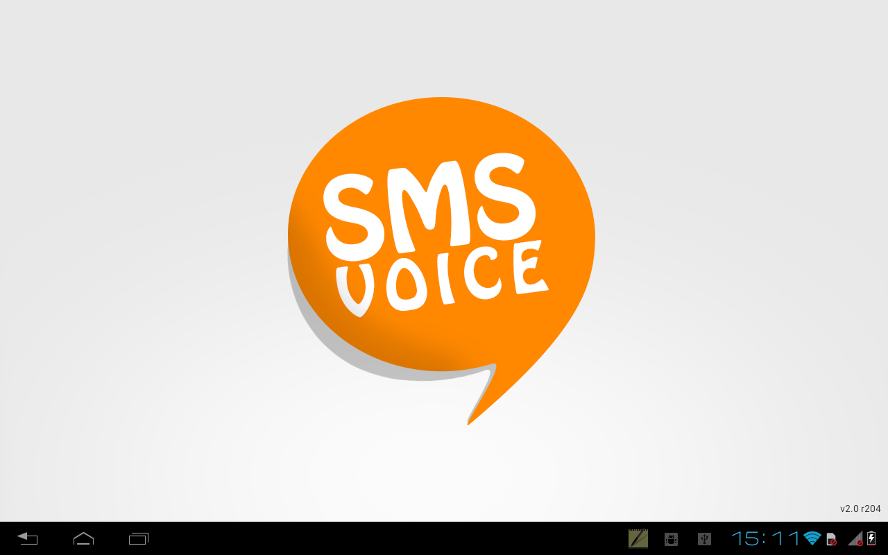 SMS Voice- screenshot