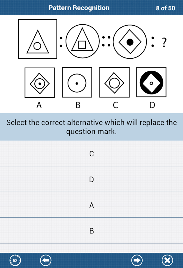 The IQ Test Lite - screenshot