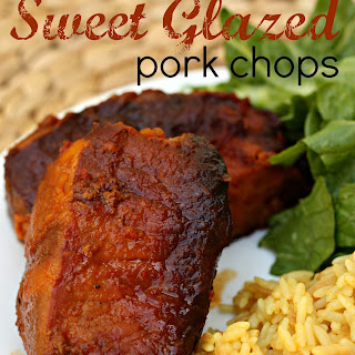 Slow Cooker Sweet Glazed Pork Chops.