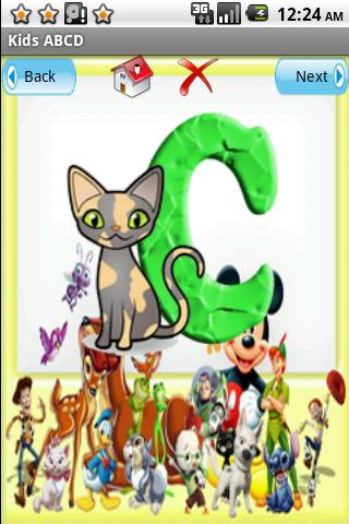 Alphabets for Kids - screenshot