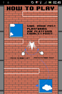 The Paper Plane Game screenshot