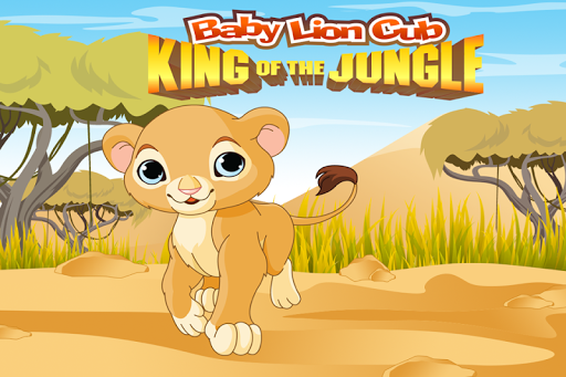 Baby Lion Cub The Jungle King