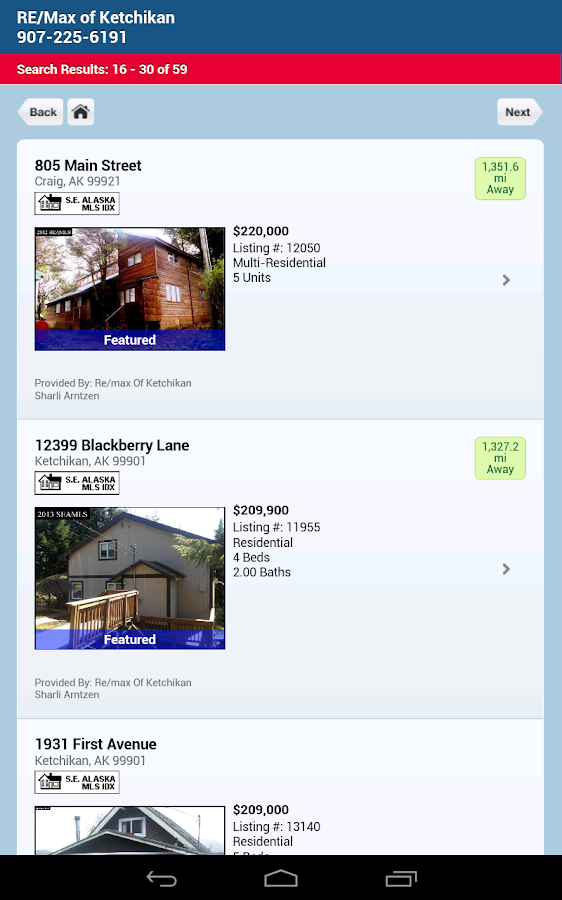 Ketchikan Real Estate - screenshot