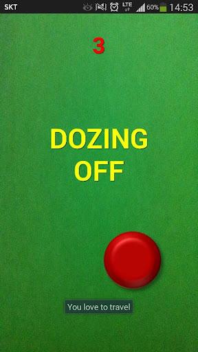 Dozing off Stay Awake