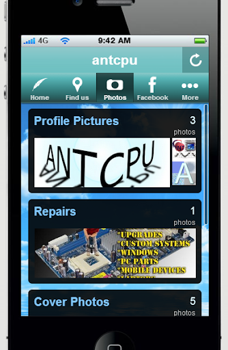 antcpu presents our app