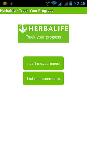 Herbalife-Track Your Progress